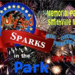 Sparks in the Park Fireworks on the 3rd! @ Smithville Memorial Park