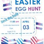 ~~Save the Date~~ Smithville Easter Egg Hunt~~ @ Smithville Memorial Park